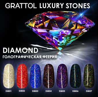 GRATTOL Professional Драгоценные Камни