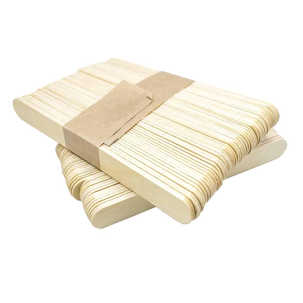 Шпатель деревянный 100шт